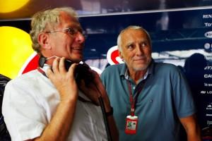 Helmut Marko & Dietrich Mateschitz - Credit: f1-fansite.com