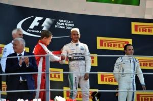 Italian GP podium - copyright- www.whtimes.co.uk