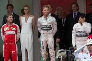 Monaco Grand Prix 2015 podium - Copyright www.grandprix.com