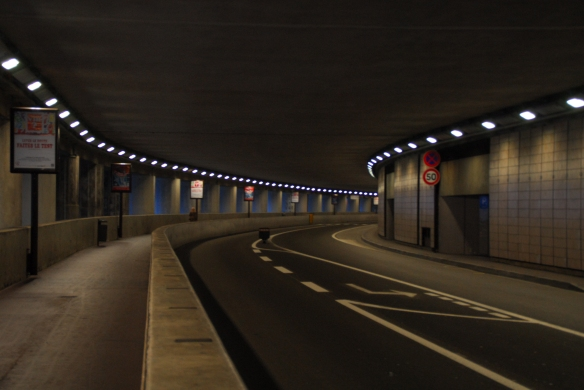 The tunnel at Monaco