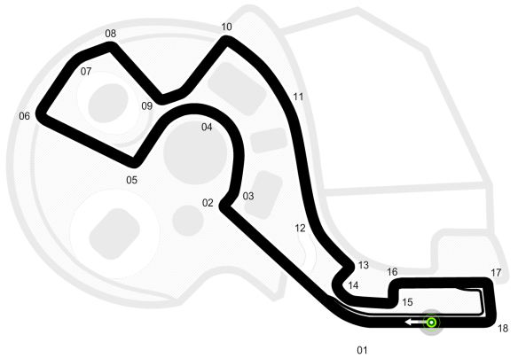 Russian GP official track guide from formula1.com