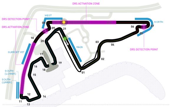 Yas Marina Circuit track guide - from Formula1.com
