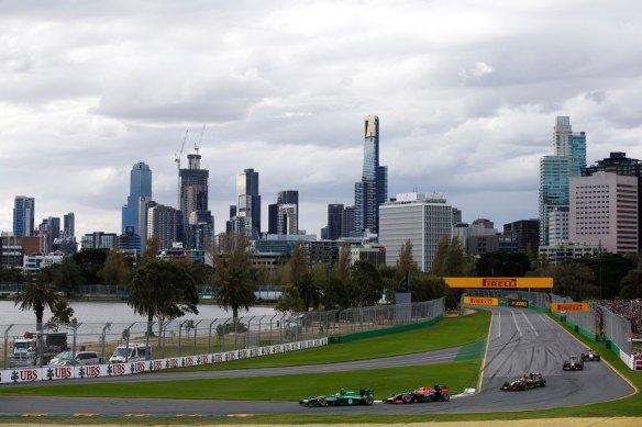 Caterham F1 - Australian GP 2014