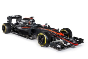Revised McLaren livery - Copyright: McLaren