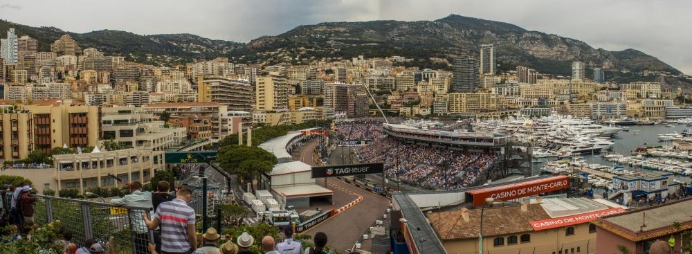 Monaco GP 2014 Overview shot - Copyright Rodrigo Martins