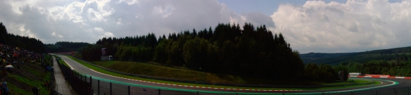 Spa-Francorchamps, Pouhon corner - Copyright Nic Redhead