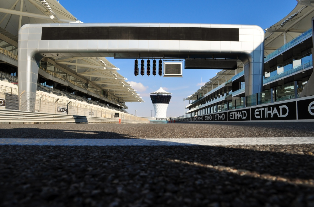 Abu Dhabi, Yas Marina Circuit grid - copyright: Beth PH