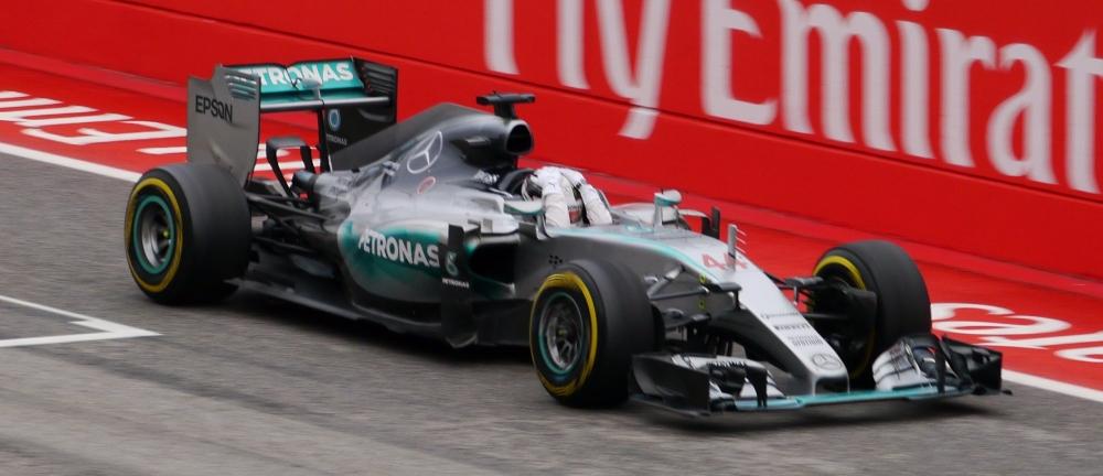 Lewis Hamilton USGP 2015 - copyright Mike Boudreaux