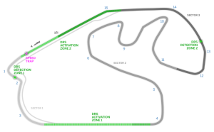 Autodromo Jose Carlos Pace, Interlagos, Sao Paulo, Brazilian GP Track Diagram - Copyright Formula1.com