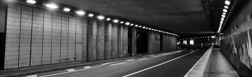 Monaco Grand Prix tunnel (cropped) - Credit Matthew Riley