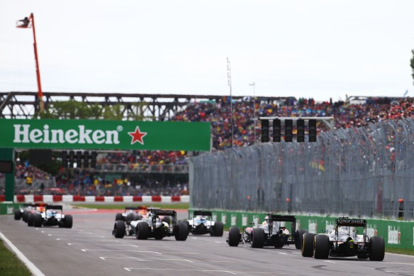 Canadian Grand Prix. Copyright: Force India F1 Team