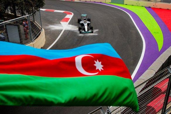 European Grand Prix, Hamilton - Photo copyright of Mercedes AMG F1 Team