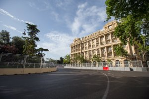 Baku City Circuit - European Grand Prix - Turn 5 (Copyright @BakuCityCircuit)