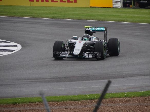 Nico Rosberg, during the British Grand Prix. Credit: Ben Sutherland