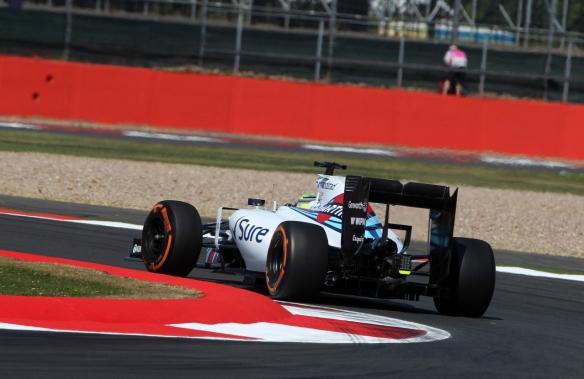 Felipe Massa during the 2015 British Grand Prix. Credit: CrazyLenny2