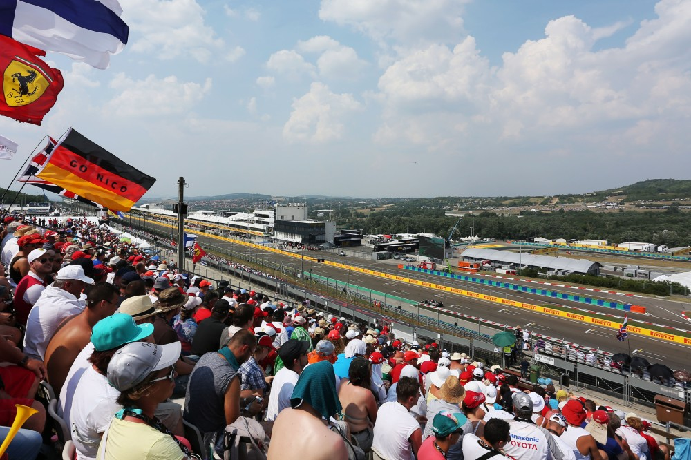 Hungarian Grand Prix. Copyright Force India F1 Team