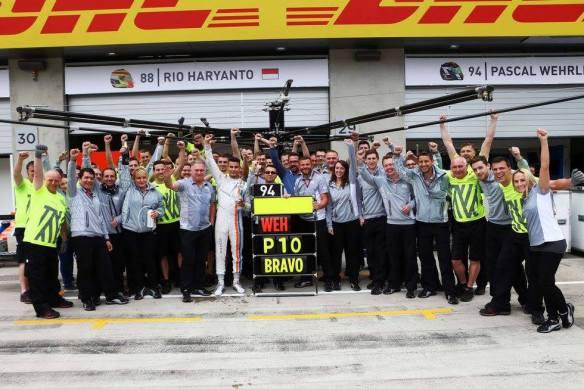 Wehrlein - Copyright Manor Racing