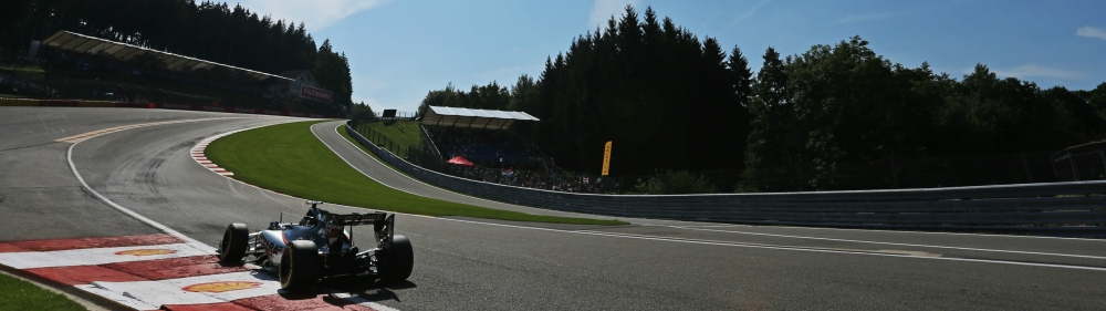 Eau Rouge, Spa-Francorchamps, Belgian Grand Prix. Copyright: Force India