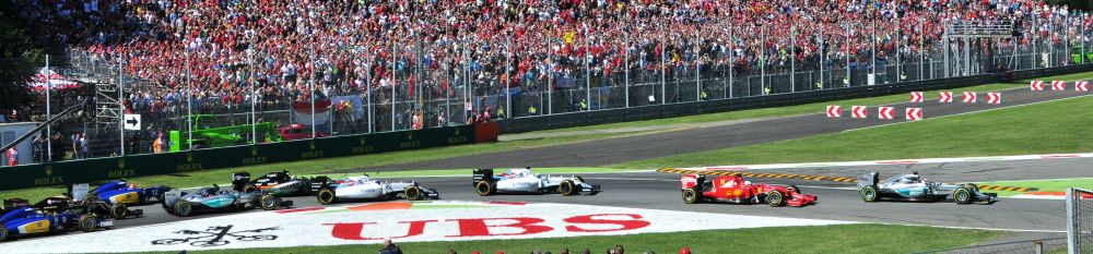 The start of the 2015 Italian Grand Prix. Photo Credit: Pedrik