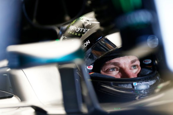 Nico Rosbger. Photo copyright: Mercedes AMG F1 Team