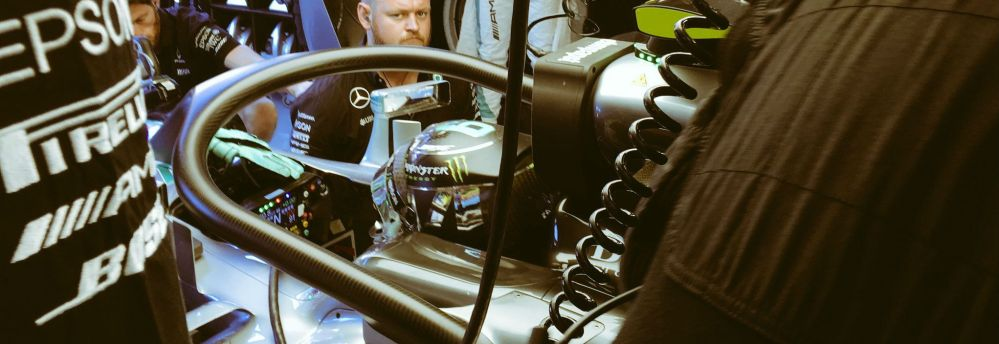 Rosberg with halo - copyright Mercedes AMG F1 Team