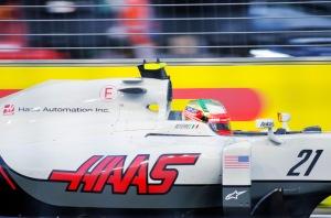 Esteban Gutierrez (MEX) during the 2016 Singapore Grand Prix. Photo credit: awee_19.