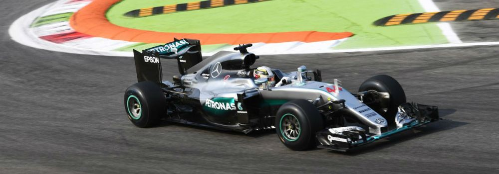 Lewis Hamilton, 2016 Italian GP free practice - Copyright: Mercedes AMG F1 Team.