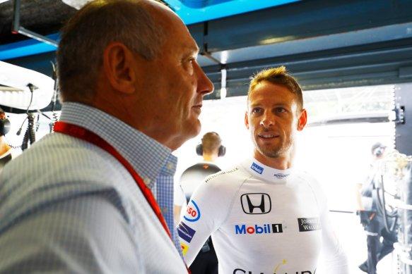 Jenson Button (GBR). Copyright: McLaren.