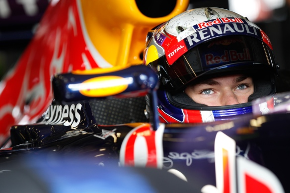 Pierre Gasly (FRA), Red Bull Racing Team display during the 2015 World Series by Renault at Nurburgring. Copyright: Renault Sport