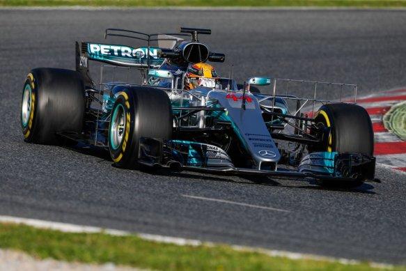 Hamilton aero rakes - Mercedes