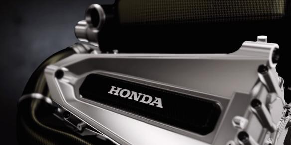 Honda F1 hybrid power unit - (c) Honda