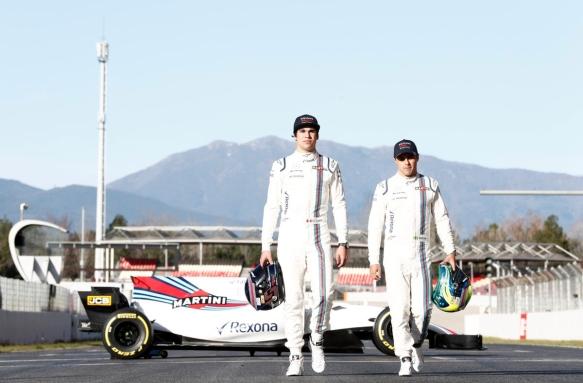 Lance Stroll, Felipe Massa - Williams Racing