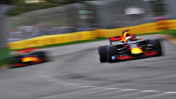Seeing double in qualifying - Red Bull