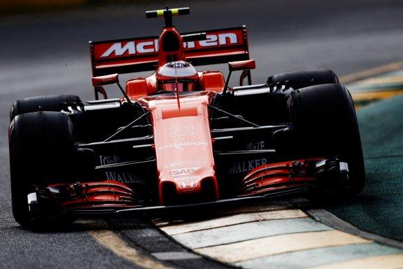 Stoffel Vandoorne - Quali 2017 - McLaren
