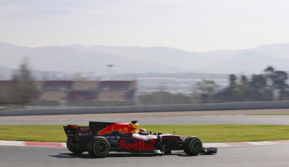 testing Red Bull