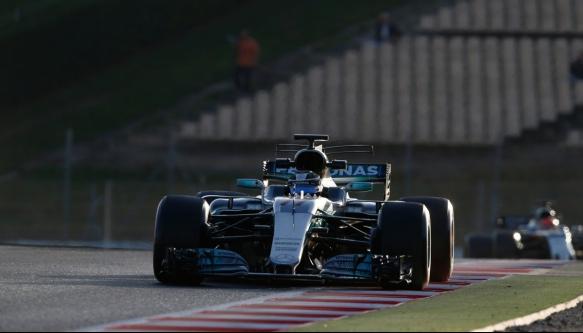 Valtteri Bottas, Mercedes, Barca pre-season - (c) Mercedes AMG F1 Team