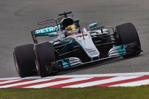 Hamilton - ChineseGP 2017 quali - Mercedes