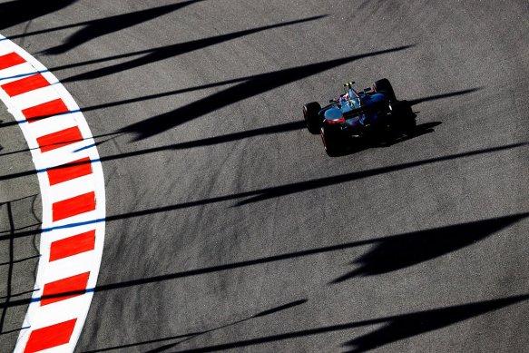Magnussen FP1 Russia - haas