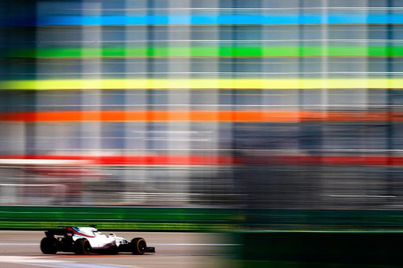 Massa fp3 russia 2017 - williams