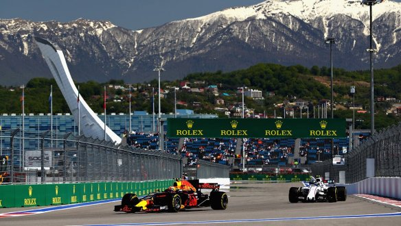 Max Verstappen - Russian GP 2017 - Red Bull