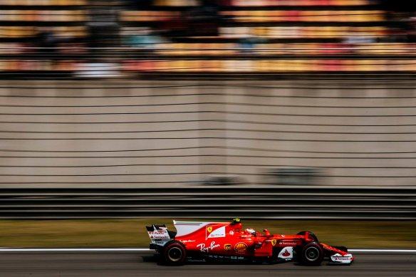 Raikkonen - ChineseGP 2017 quali - Ferrari