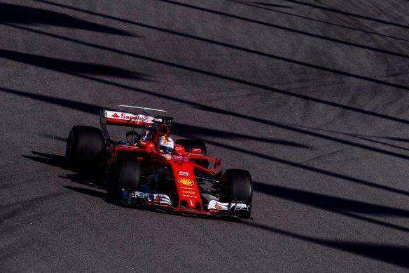 Vettel (2) - Russian GP - Ferrari