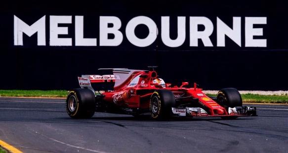 Vettel Aus 2017 - Ferrari