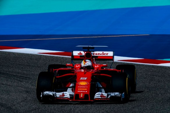 Vettel Bahrain race 2017 - Ferrari