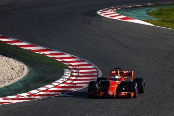 Circuit de Barcelona-Catalunya turns two:three - McLaren