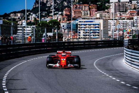 Massenet Vettel Ferrari