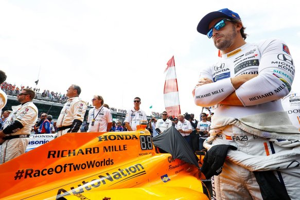 Alonso Indy500 - McLarenHondaAndretti