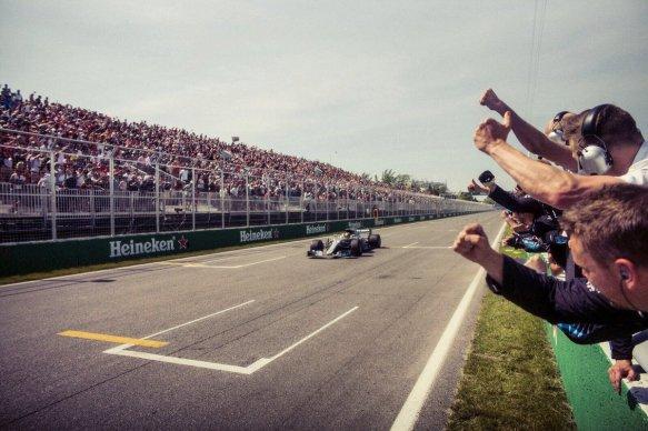 Hamilton Canadian GP 6th win - Mercedes