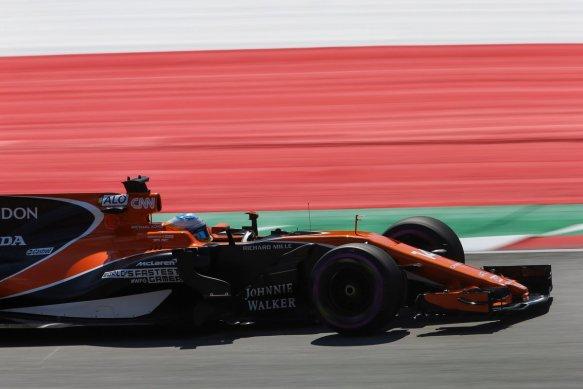Alonso Fp3 - https-::twitter.com:McLarenF1:status:883616559859720192
