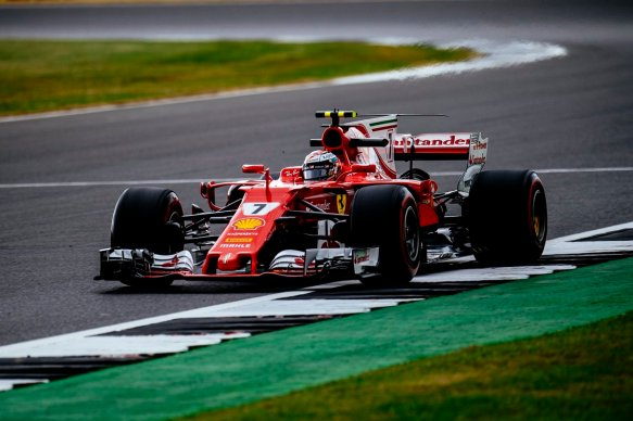 Early FP3 Raikkonen = https-::twitter.com:ScuderiaFerrari:status:886150662559592448